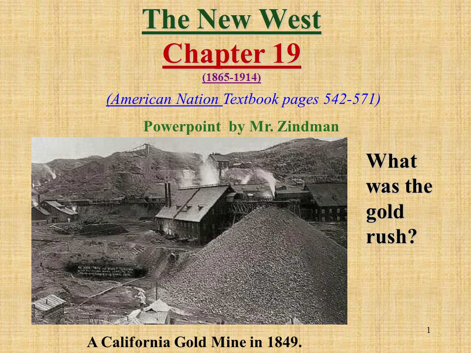 The New West Chapter 19 ( )