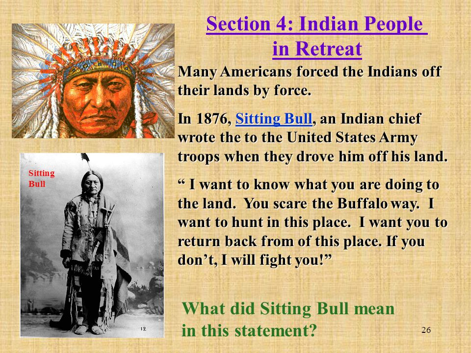 Section 4: Indian People