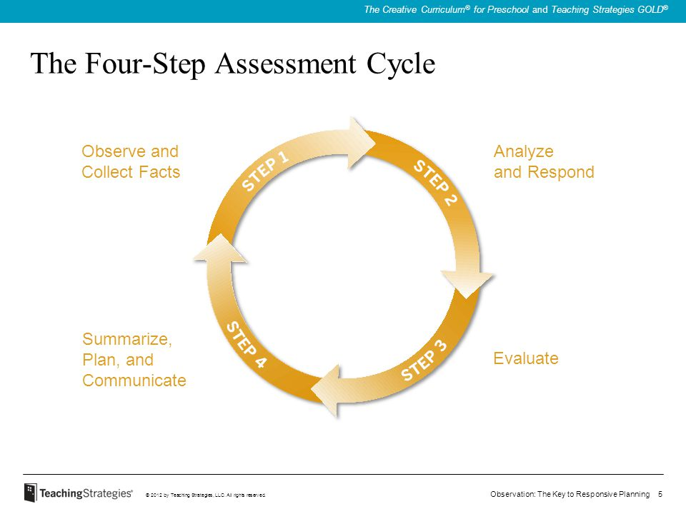 The Four-Step Assessment Cycle