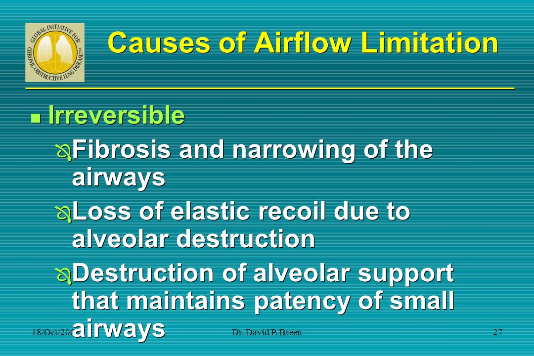 Causes of Airflow Limitation