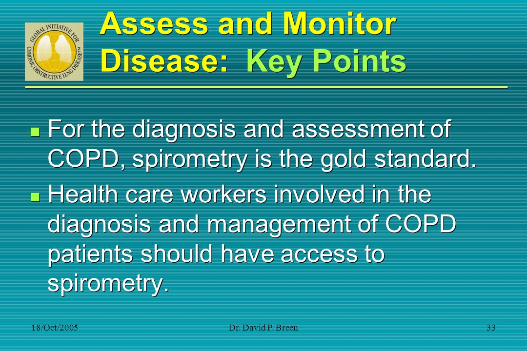 Assess and Monitor Disease: Key Points