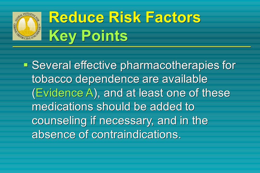 Reduce Risk Factors Key Points