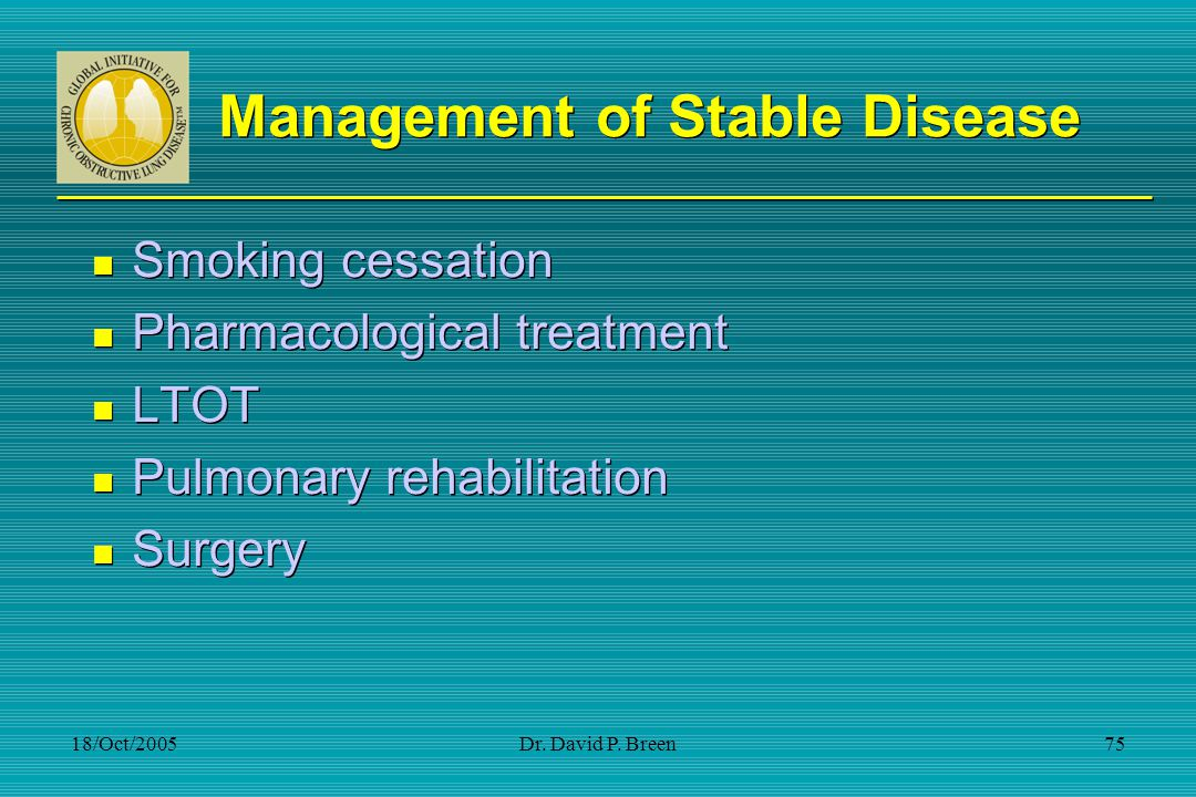 Management of Stable Disease