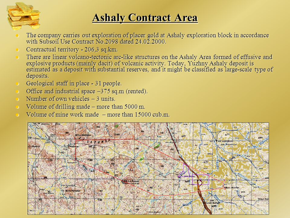 Ashaly Contract Area