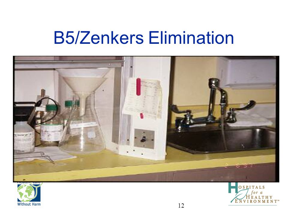 B5/Zenkers Elimination