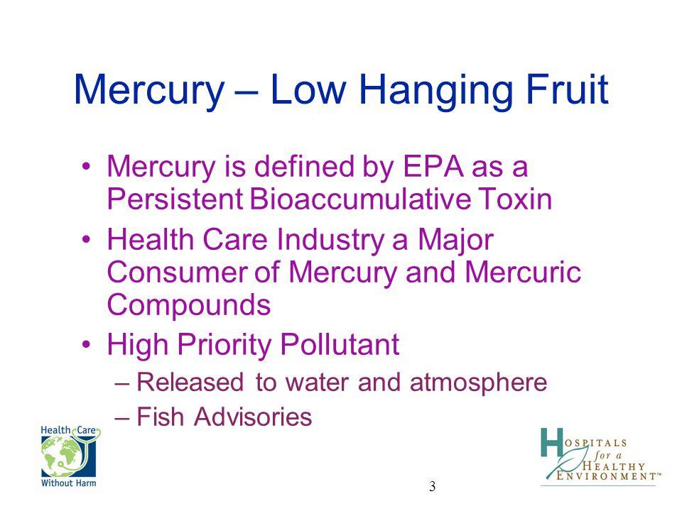 Mercury – Low Hanging Fruit