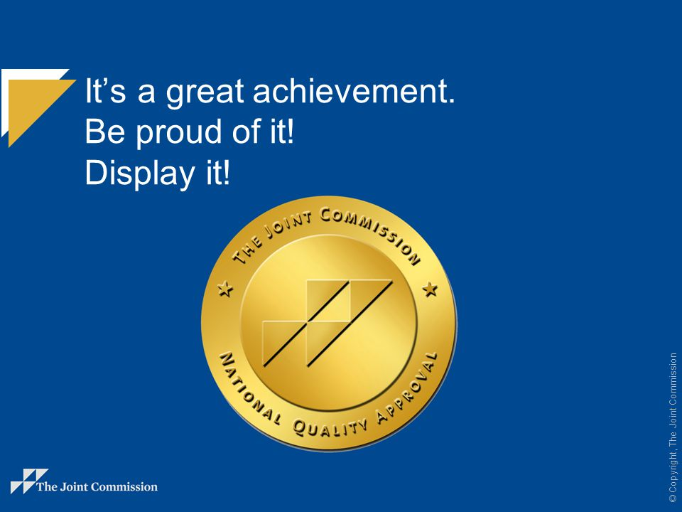 It's a great achievement. Be proud of it! Display it!
