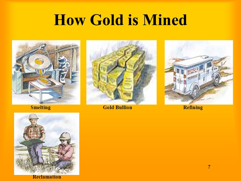 How Gold is Mined Smelting Gold Bullion Refining Reclamation