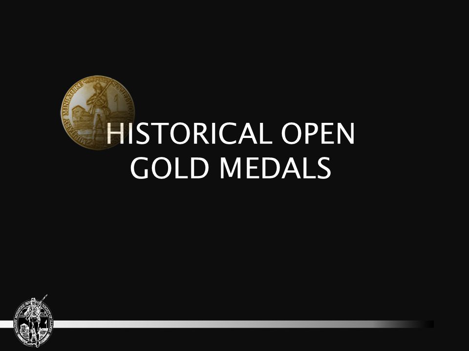 HISTORICAL OPEN GOLD MEDALS