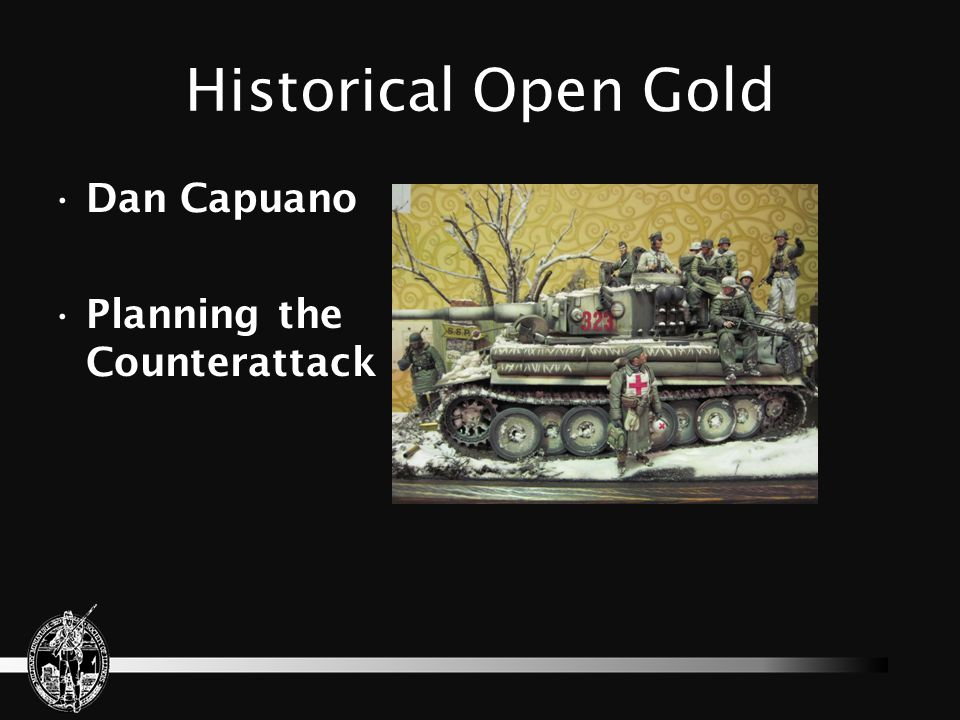 Historical Open Gold Dan Capuano Planning the Counterattack