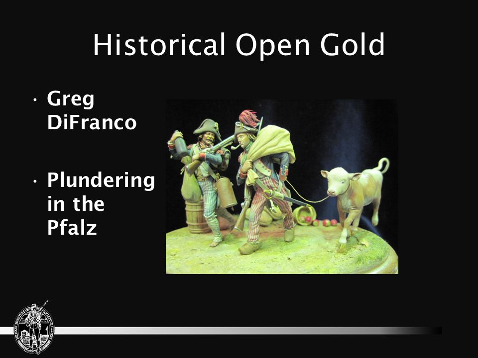 Historical Open Gold Greg DiFranco Plundering in the Pfalz