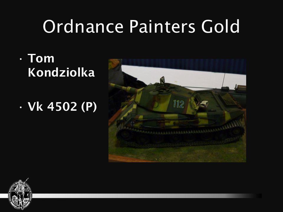 Ordnance Painters Gold