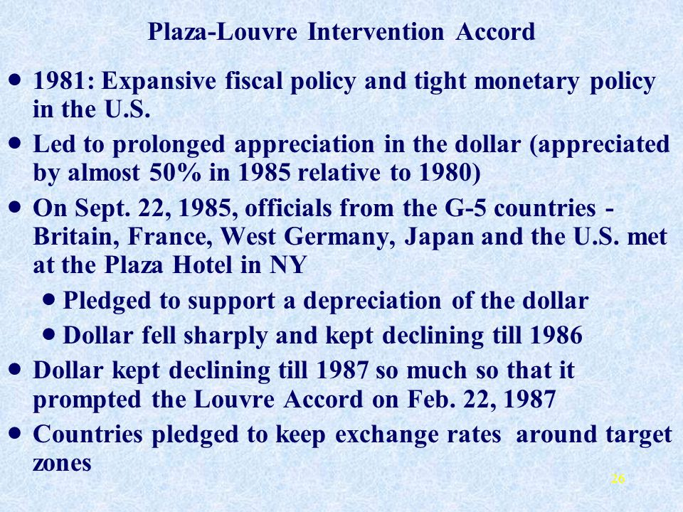 Plaza-Louvre Intervention Accord