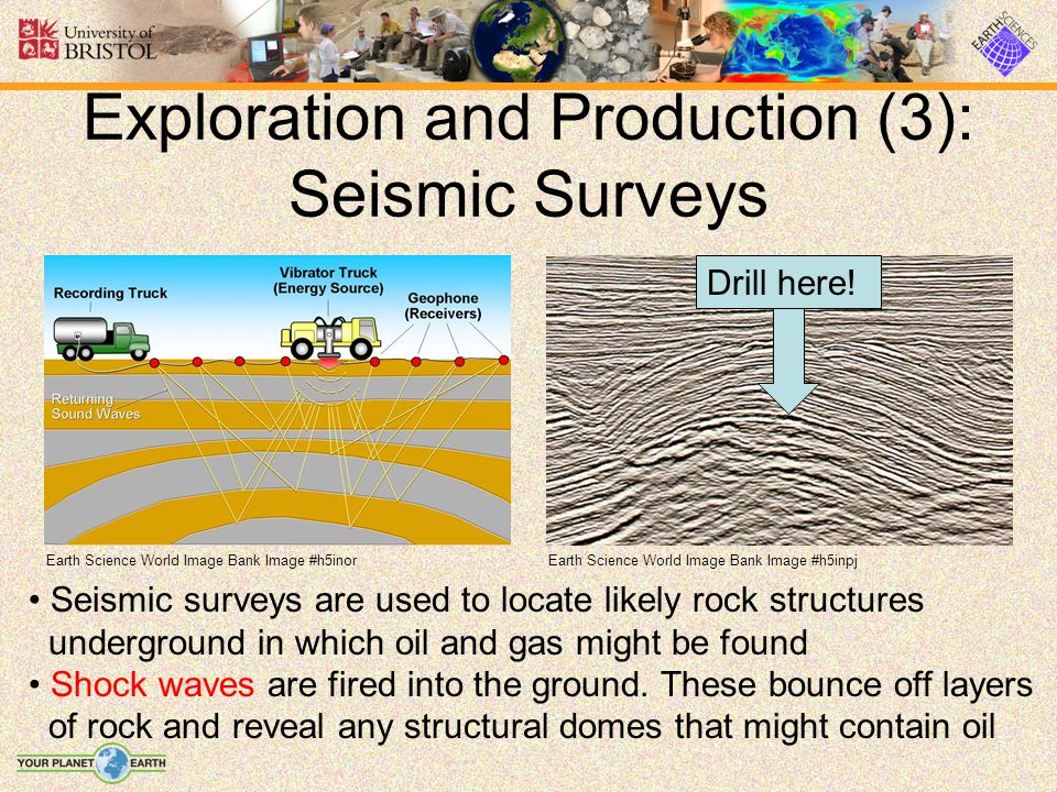 Exploration and Production (3): Seismic Surveys