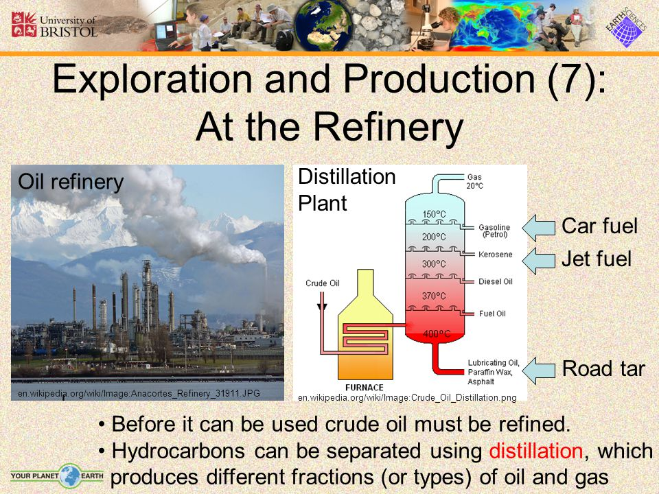 Exploration and Production (7): At the Refinery