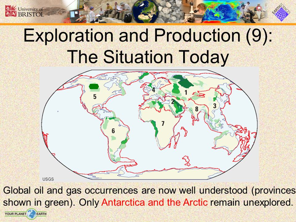 Exploration and Production (9): The Situation Today