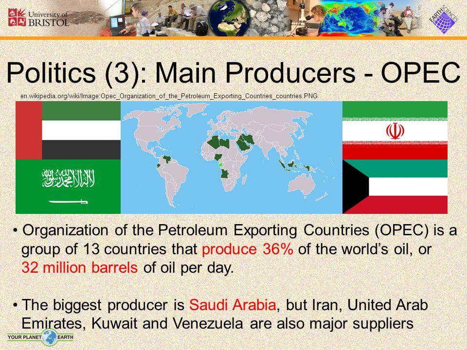 Politics (3): Main Producers - OPEC