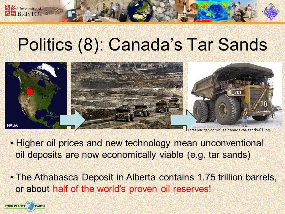 Politics (8): Canada's Tar Sands