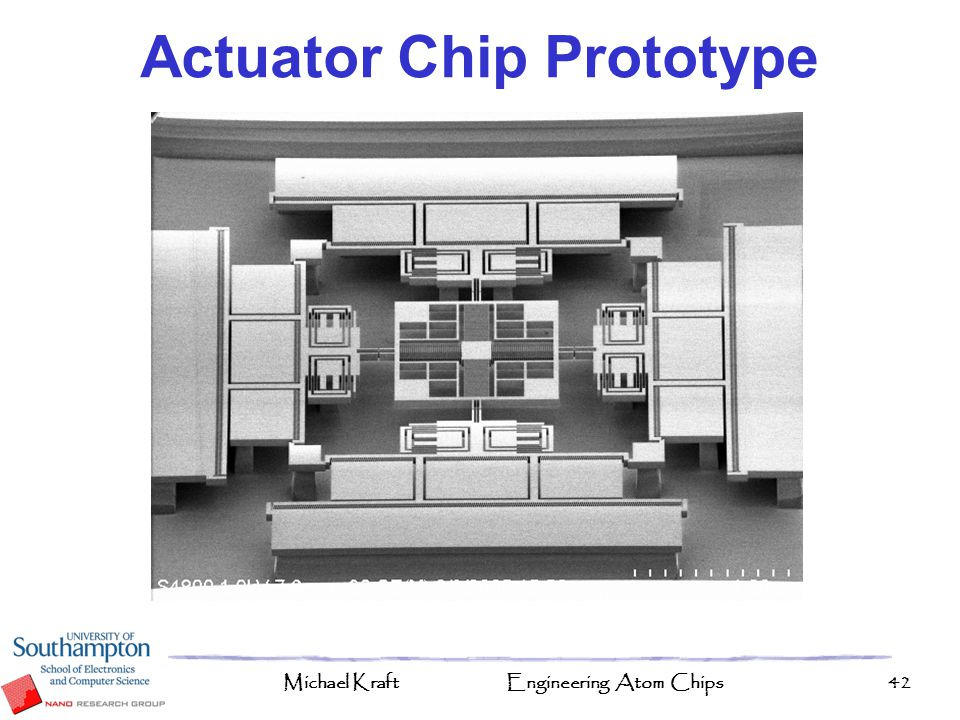 Actuator Chip Prototype