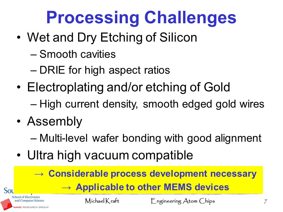 Processing Challenges