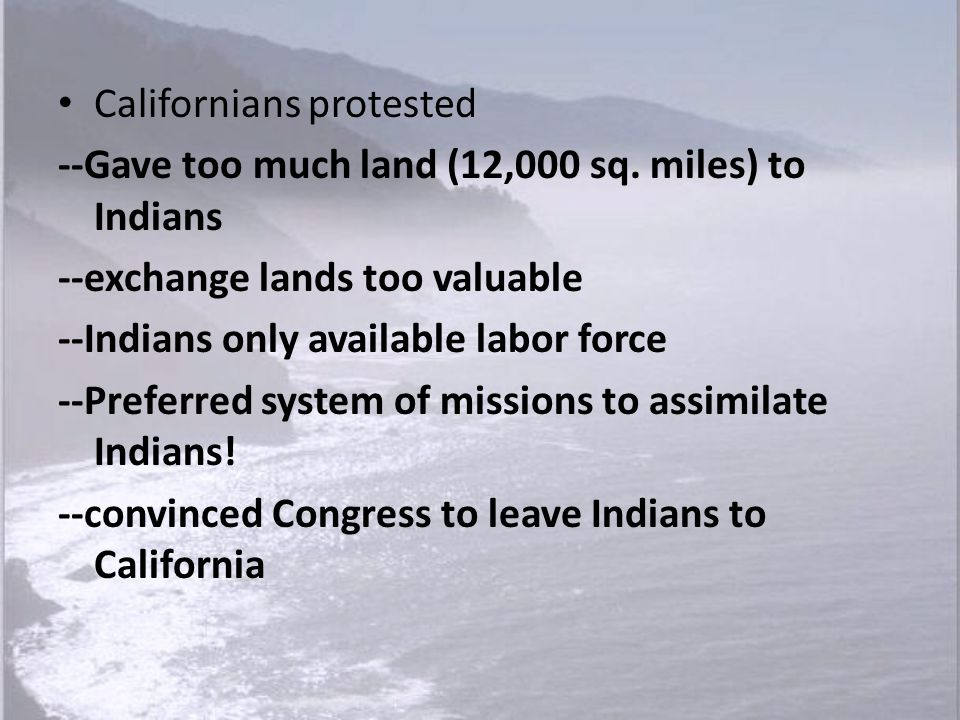 Californians protested