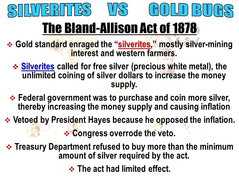 The Bland-Allison Act of 1878