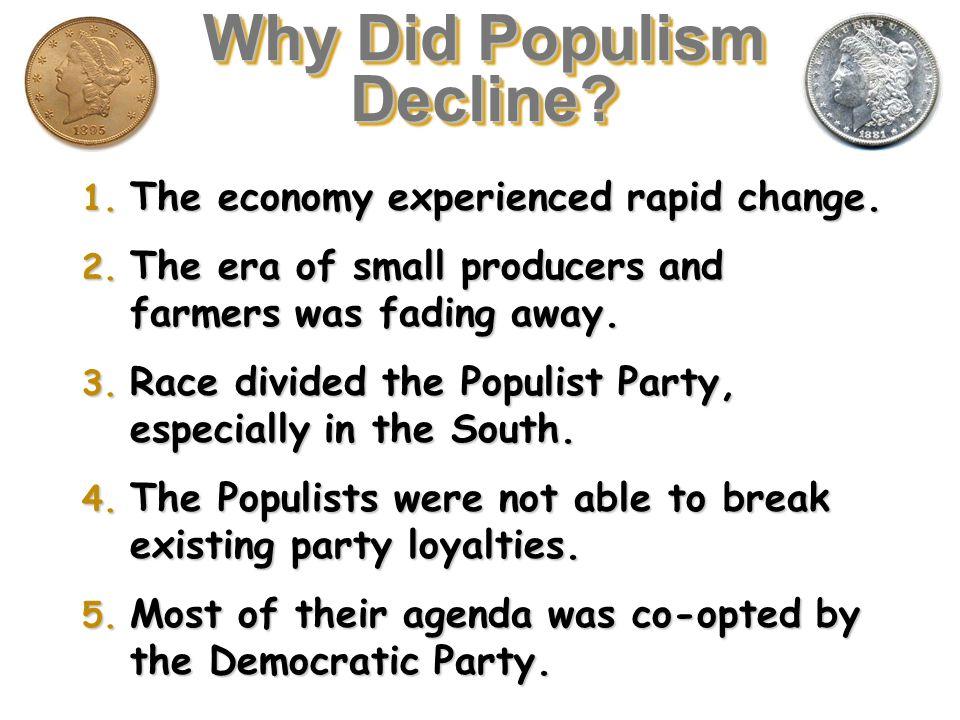 Why Did Populism Decline