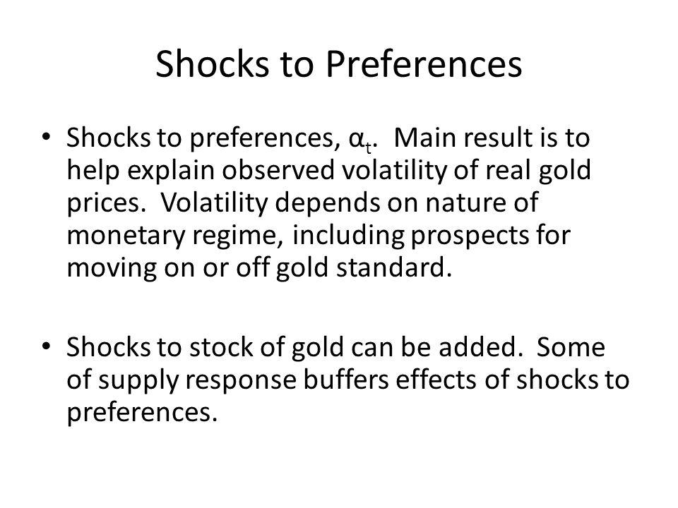 Shocks to Preferences