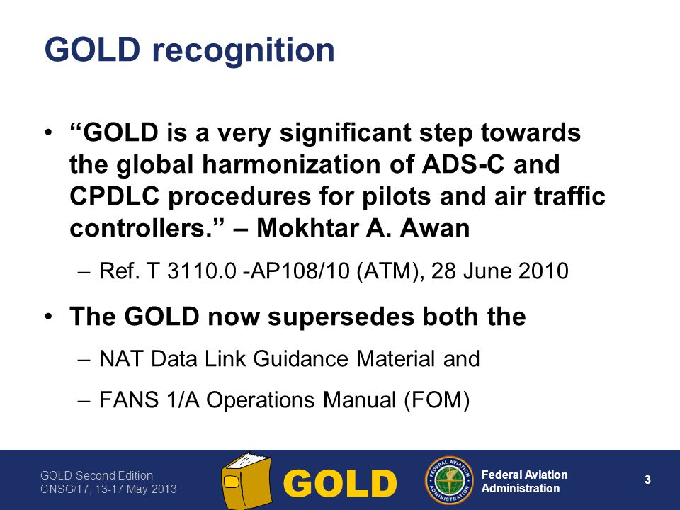 GOLD recognition