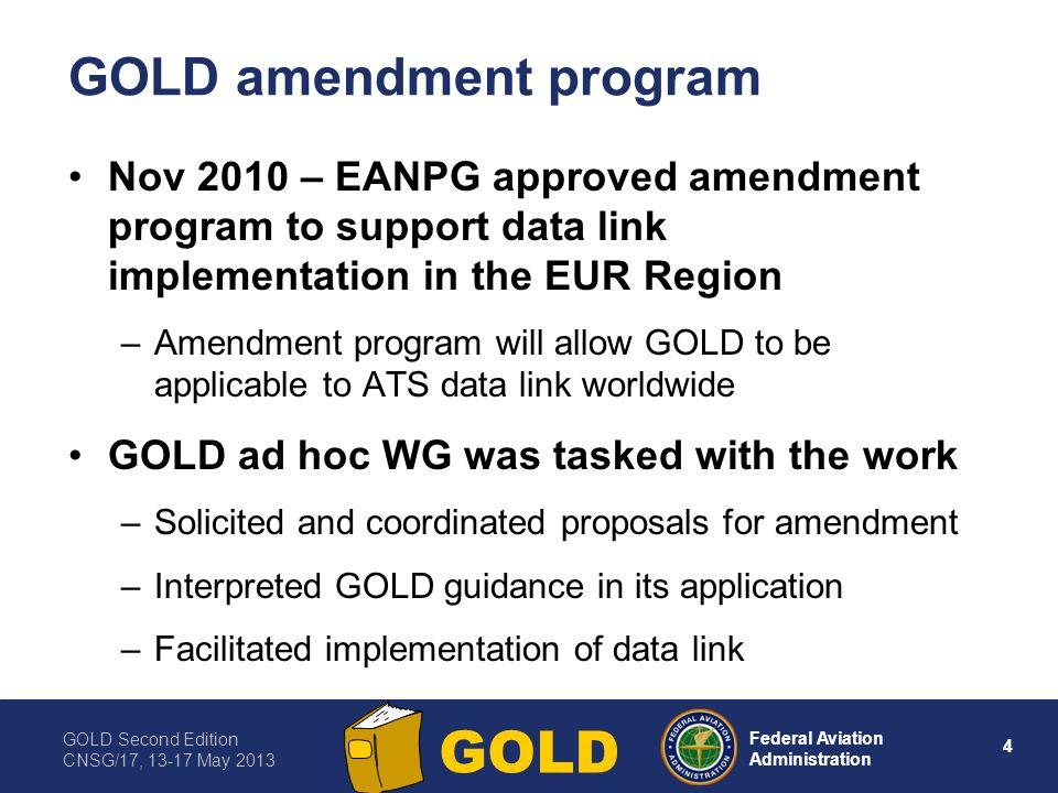 GOLD amendment program