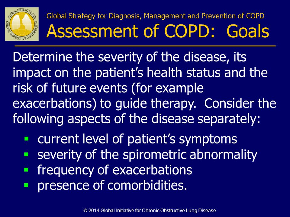 © 2014 Global Initiative for Chronic Obstructive Lung Disease