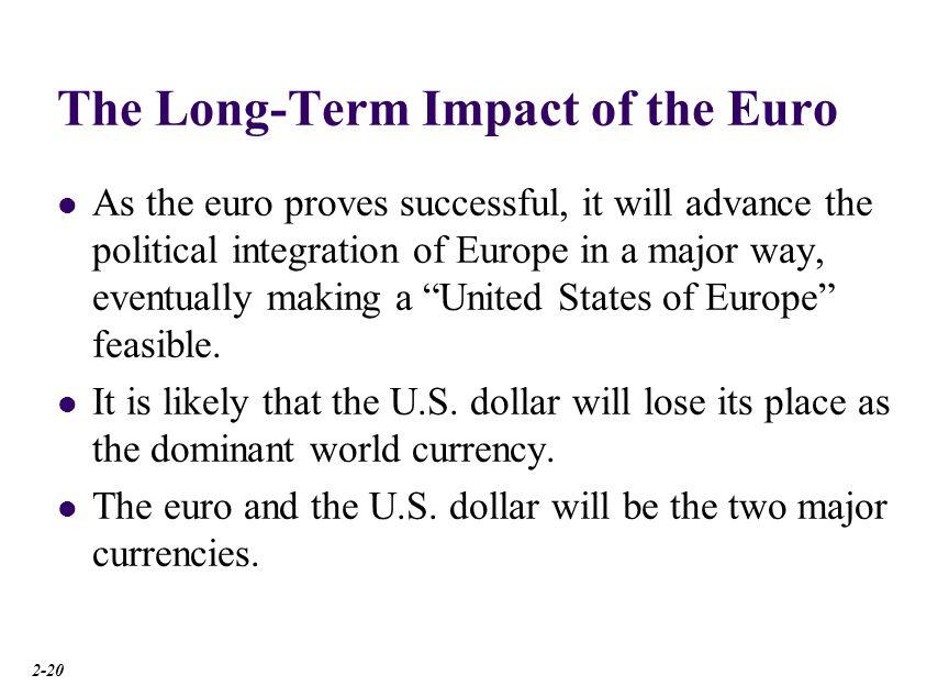Benefits of Monetary Union