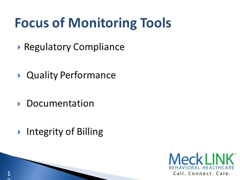 Focus of Monitoring Tools