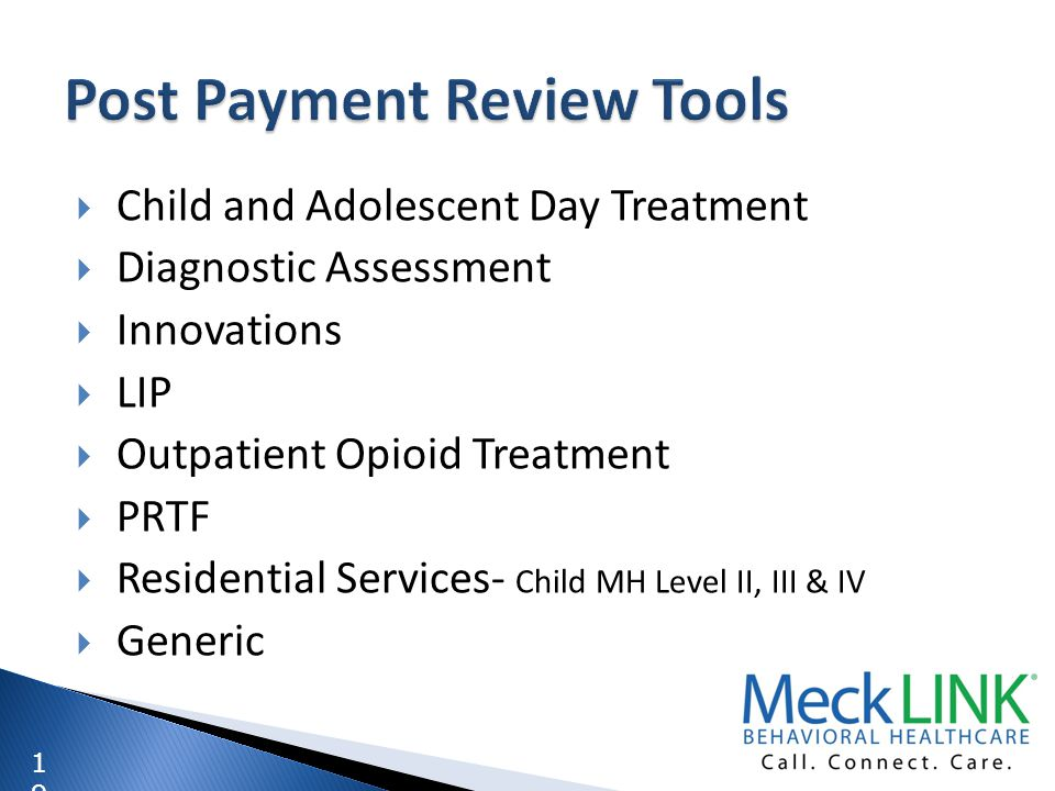 Post Payment Review Tools