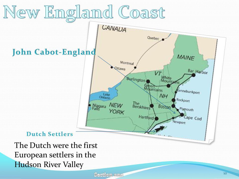 New England Coast John Cabot-England