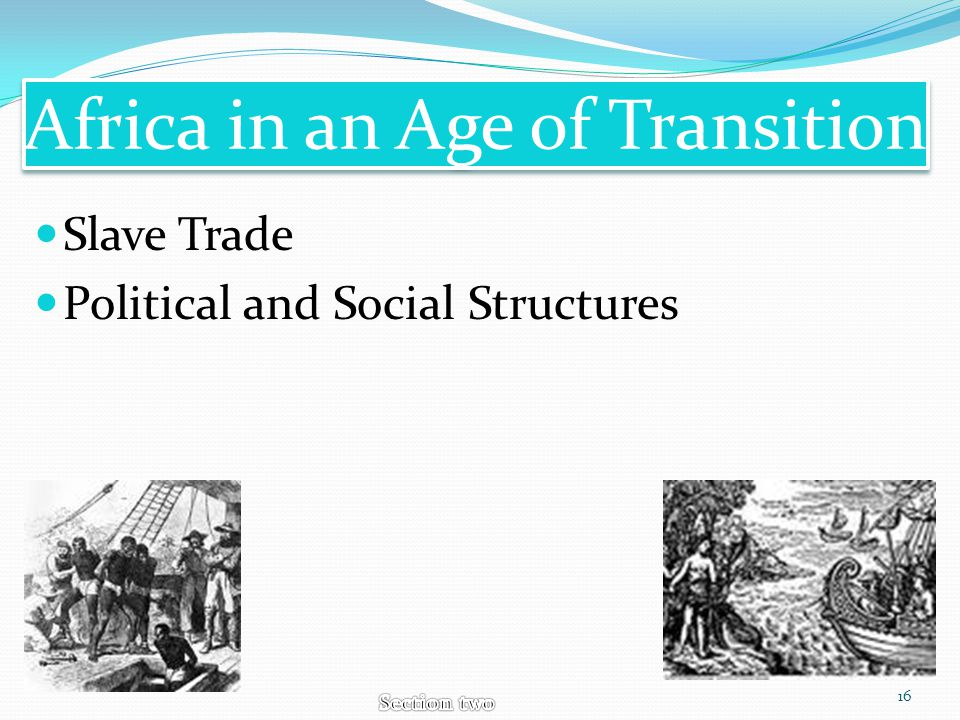 Africa in an Age of Transition