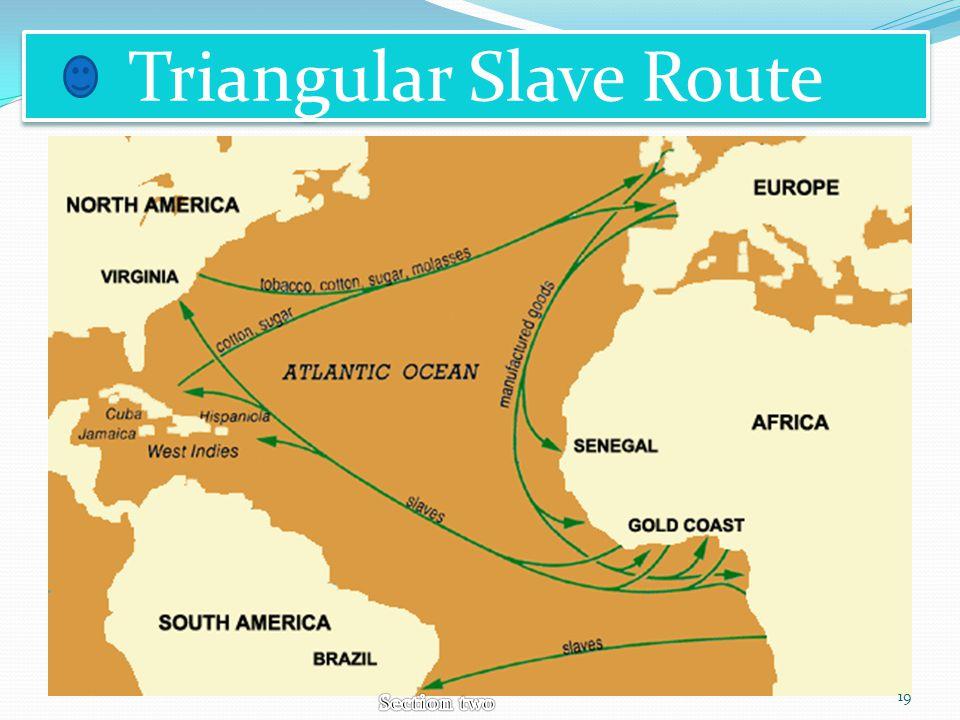 Triangular Slave Route