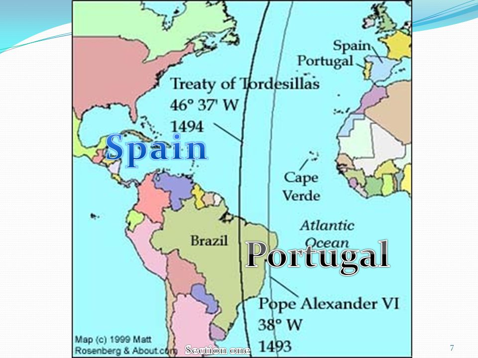 The Age Of Exploration Section I Section II Section III Ppt - Portugal map 1500