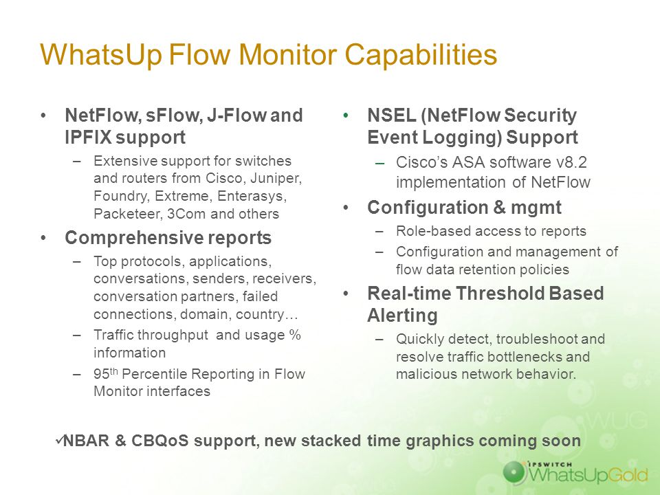 WhatsUp Flow Monitor: Network Traffic Monitoring & Analysis