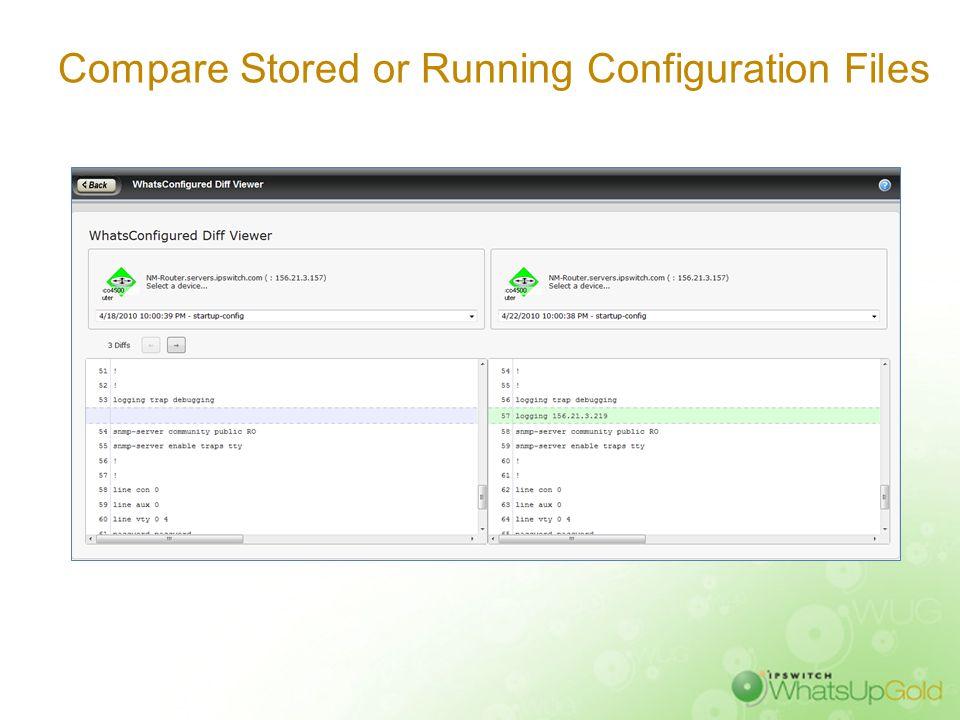Automate Configuration Tasks