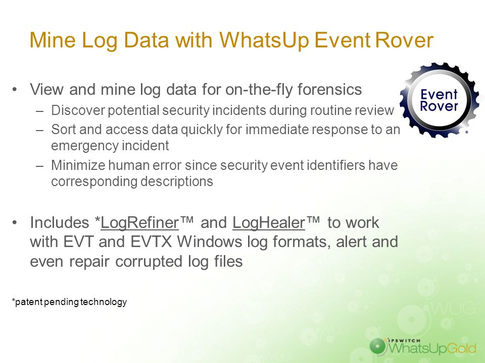 Filter, Analyze and Report on Log Files