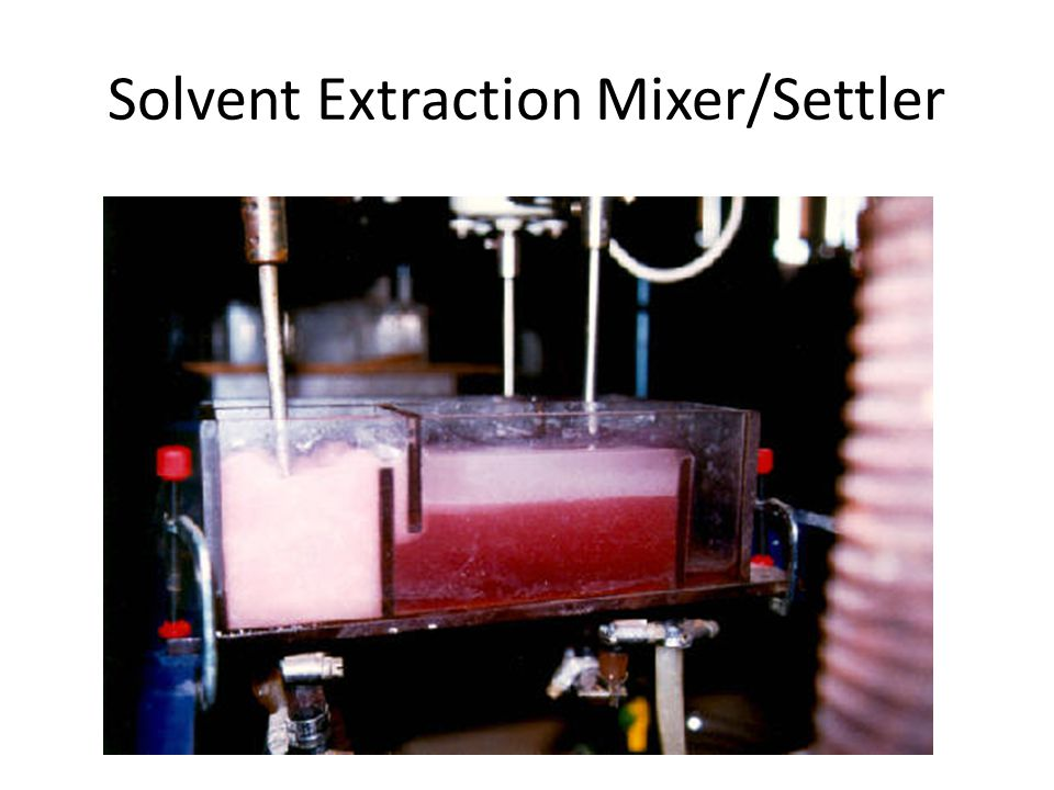 Solvent Extraction Mixer/Settler