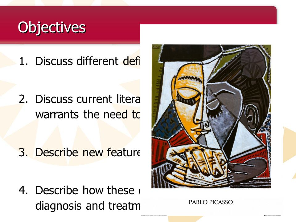 Objectives Discuss different definitions of COPD