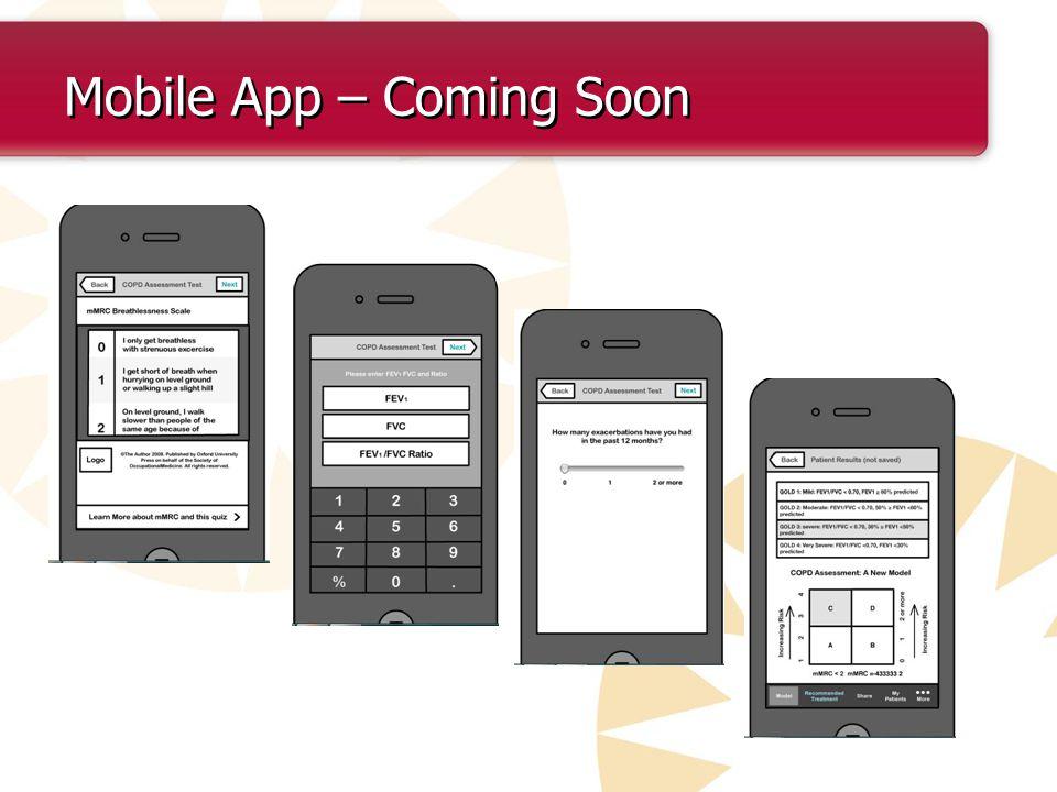 Mobile App – Coming Soon
