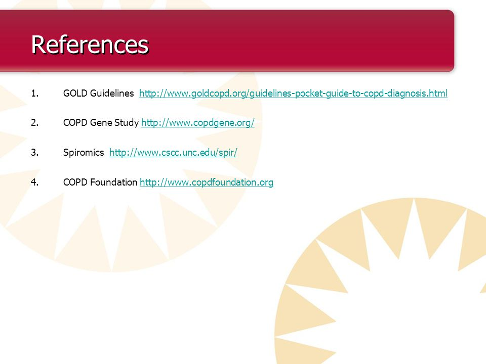 Pac copd study guide