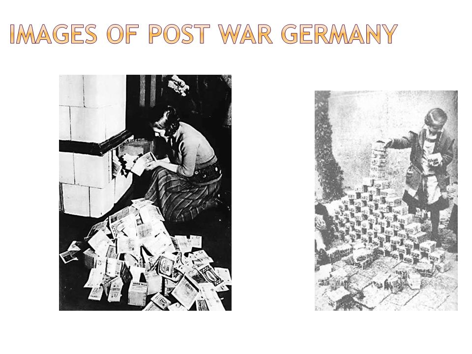 Images of post war Germany