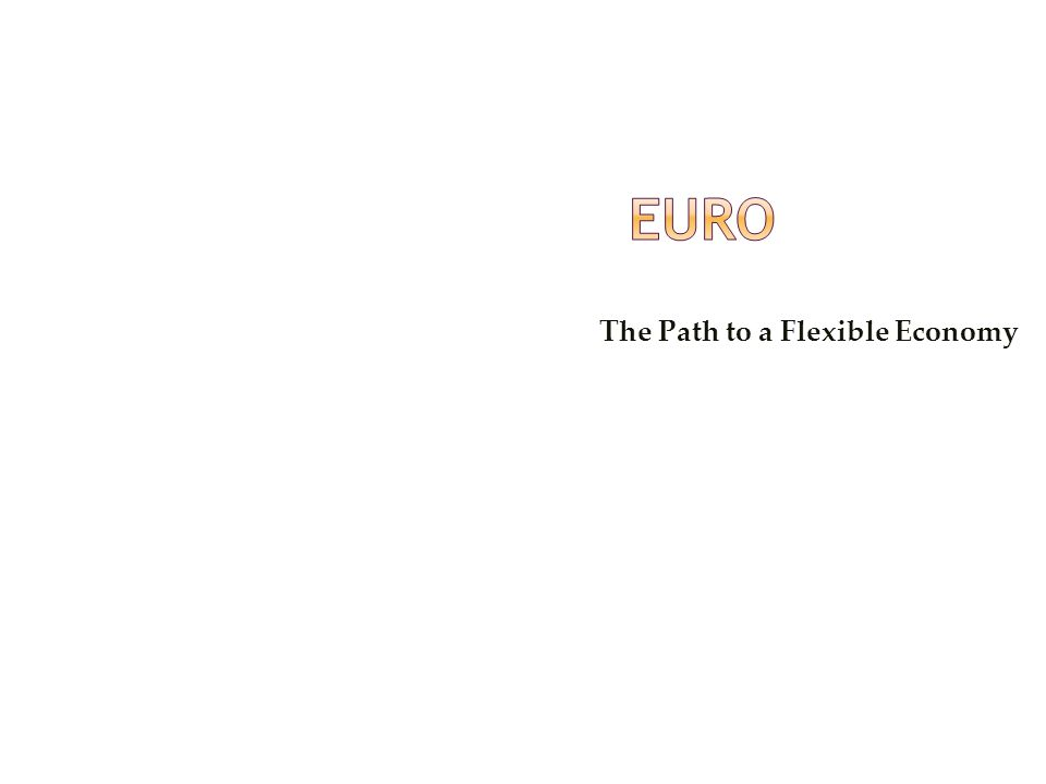 Euro The Path to a Flexible Economy Confidential © 2008 Wipro Ltd