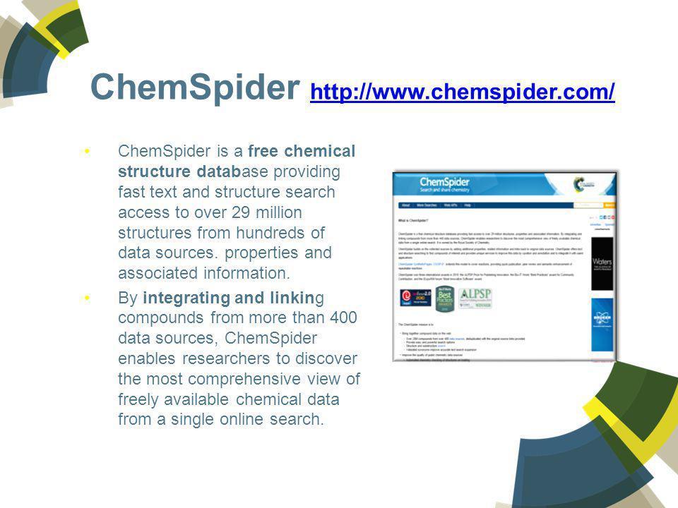 ChemSpider http://www.chemspider.com/