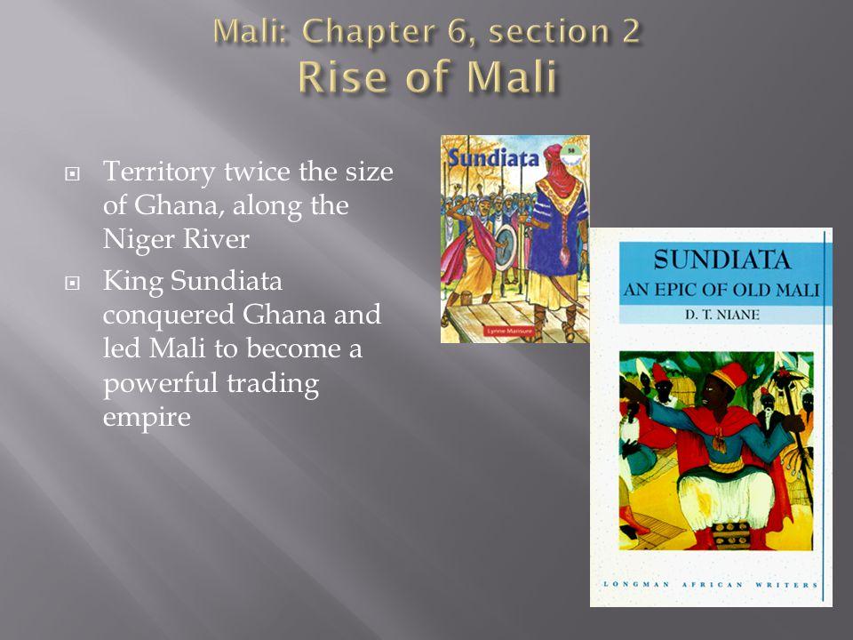 Mali: Chapter 6, section 2 Rise of Mali