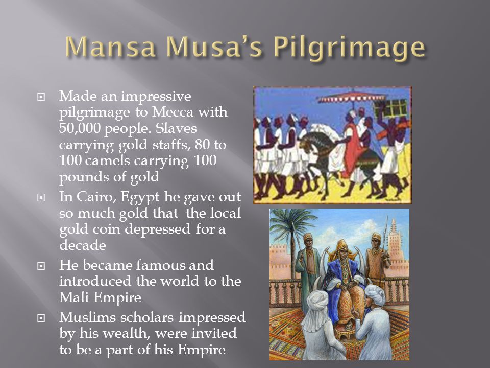 Mansa Musa's Pilgrimage